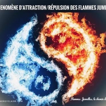 Le phénomène d'attraction / répulsion des Flammes Jumelles www.energyclaire.com
