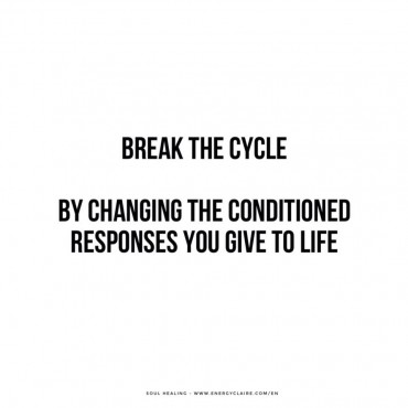 How to break a painful repetitive cycle ? www.energyclaire.com/en
