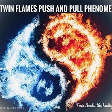 The Twin flames push and pull phenomenon www.energyclaire.com/en